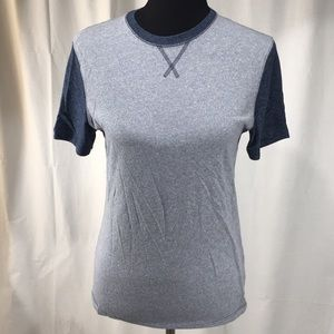 Mossimo Jean Colored Short Sleeve Shirt, Small